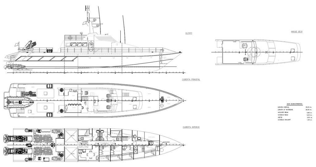 30 m SVA Patrol Vessel