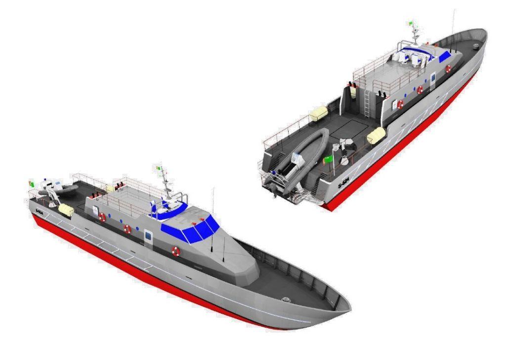 33 m Patrol Vessel