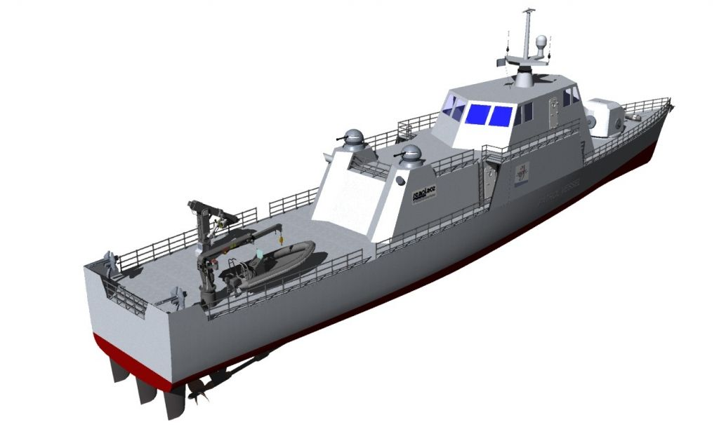 51 m Patrol Vessel