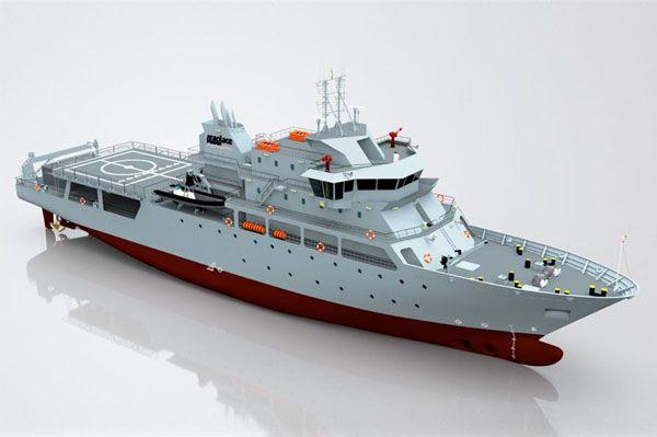 84m patrol vessel