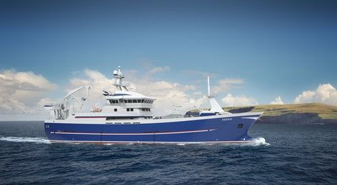 Adenia Trawler-Fishing Vessel