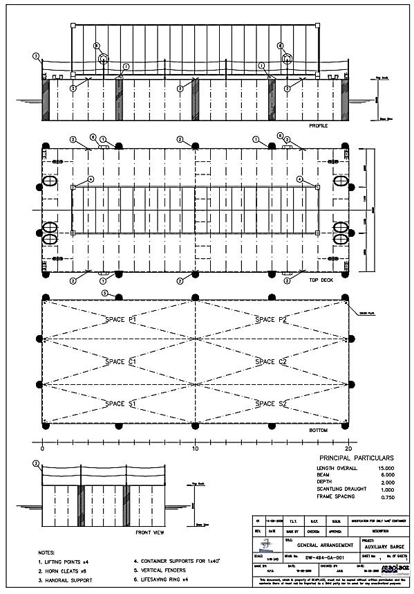 Aksoy auxiliary ponton
