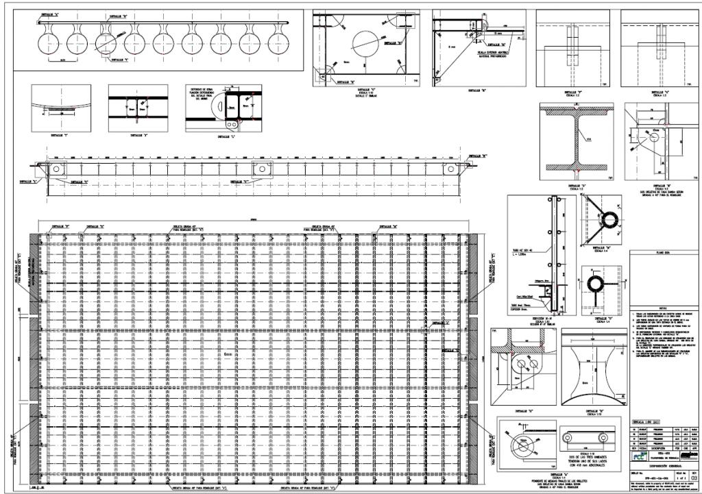 Auxiliary pontoon plano