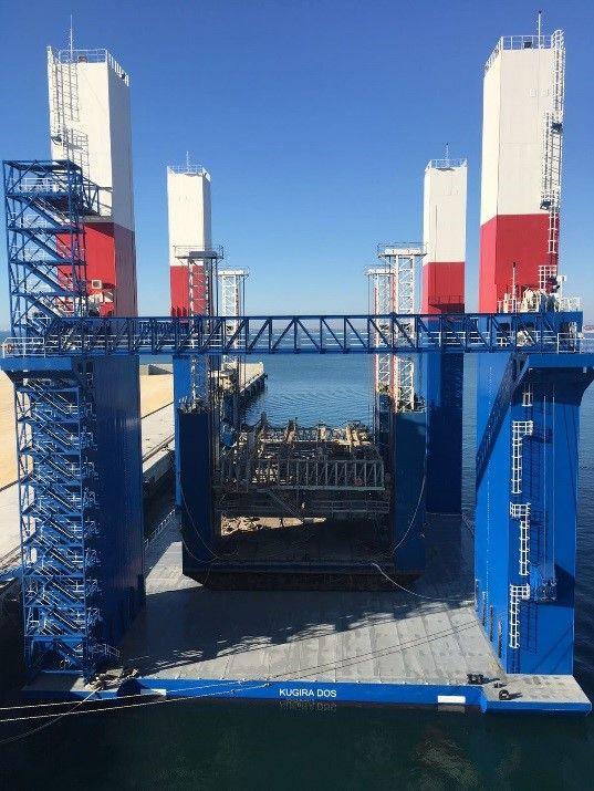 BALEA dry docking on KUGIRA II