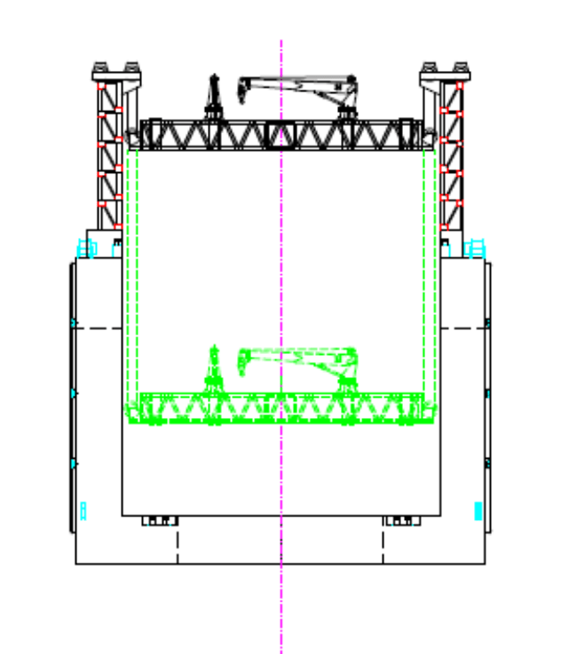Floating pontoon-block const