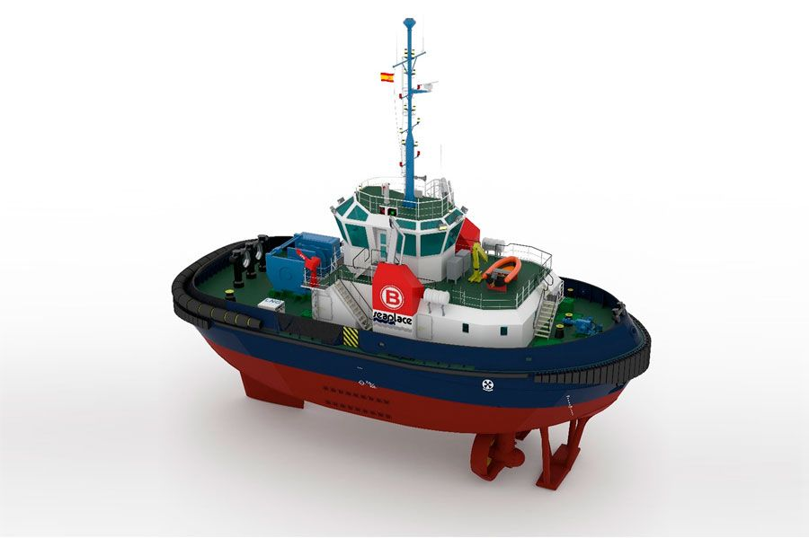 Gas-fuelled-TUG