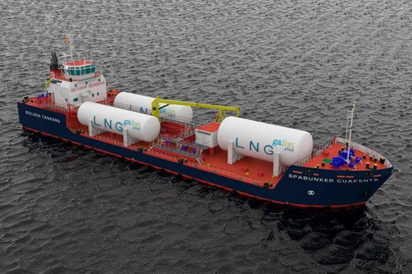 lng Multi-product Bunker Ship Retrofitting HFO/GO/LNG(1.000 m³)
