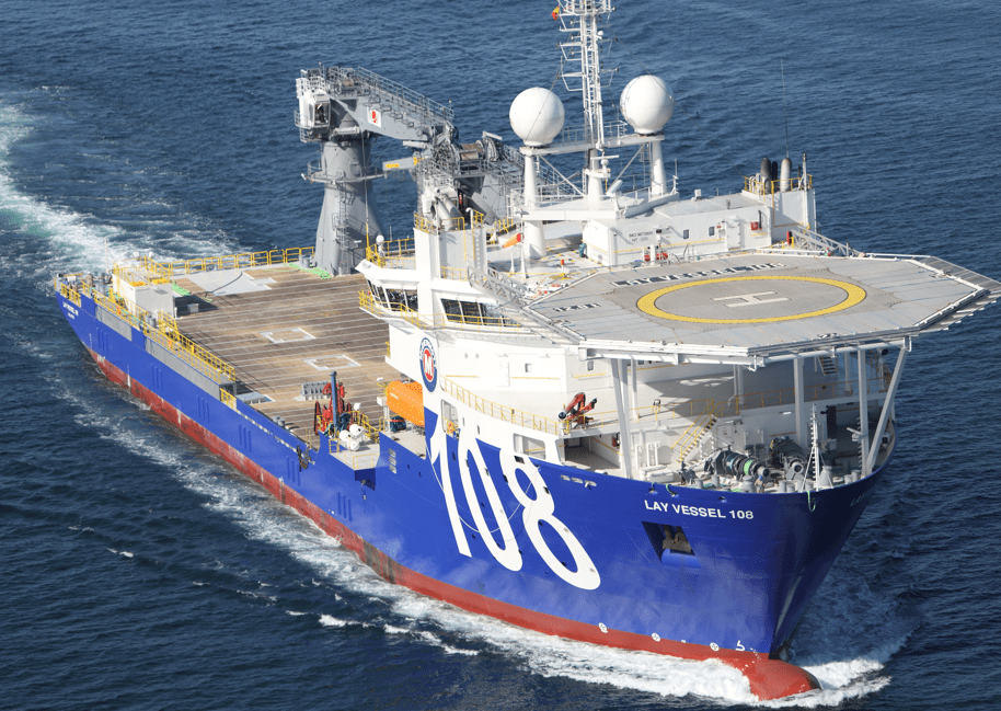 Offshore construction Vessels References - Lay Vessel