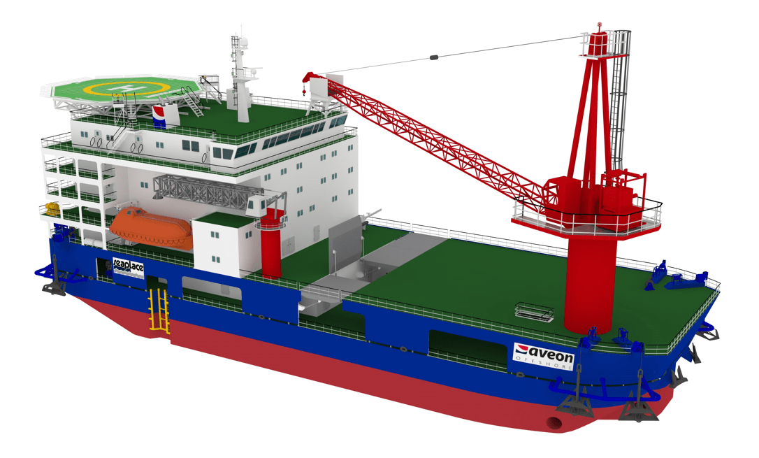 Offshore construction Vessels References - Main Installation