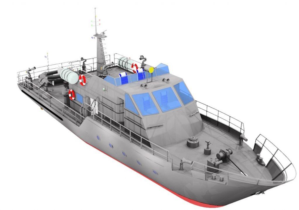 Patrol Vessel for Nicaragua-1
