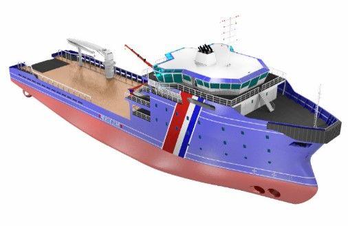 Rescue & Anti-Polution Vessel