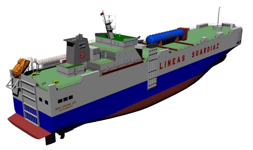 RoRo Retrofitting to Gas Fuelled-1