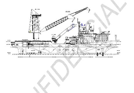 crane vessels references - caballo azteca