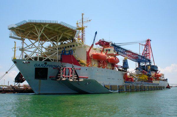 crane vessels references - garzprom II - seaplace