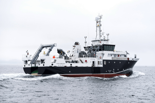 oceanographic research vessel - Victor Angelescu-2