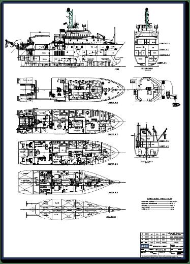 oceanographic research vessel - ramonmargalef-plano