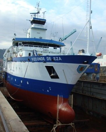 oceanographic research vessel - vizconde-de-eza-4