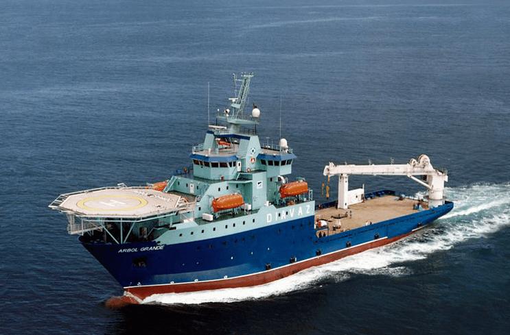 offshore supply vessels - arbol grande