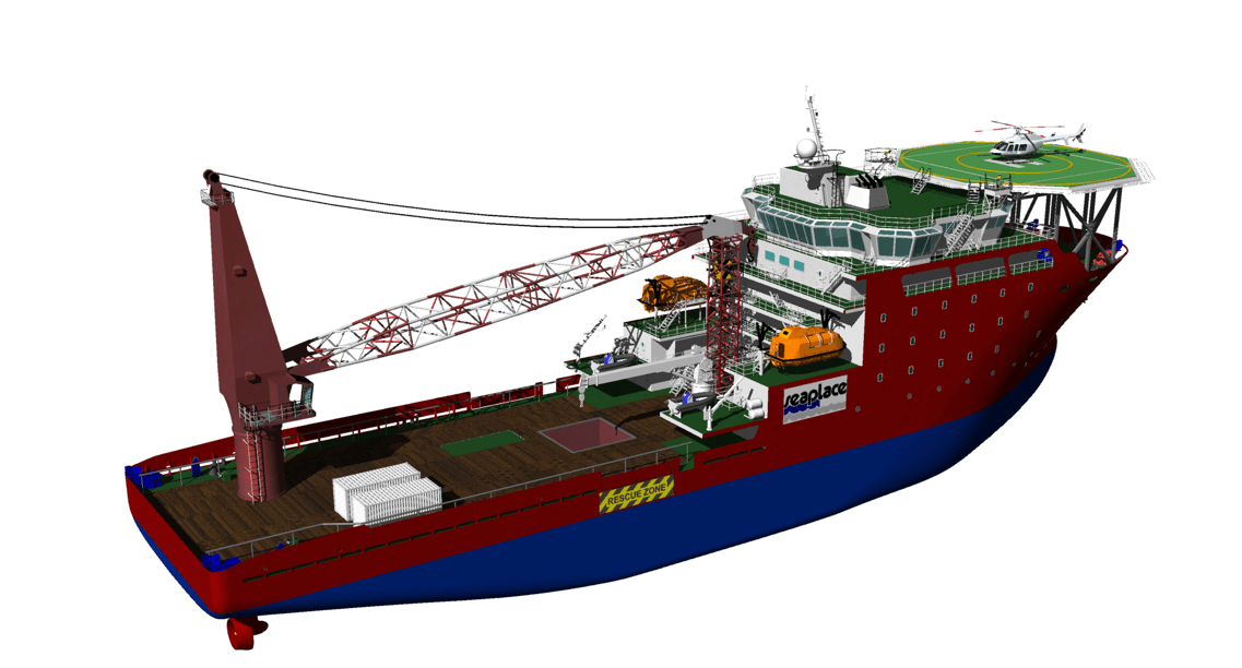 offshore supply vessels - service operation vessel