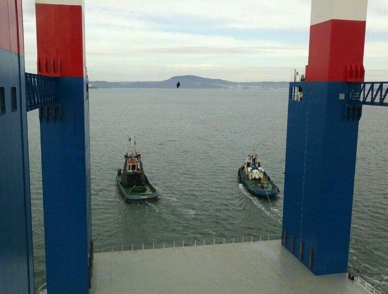 Kugira II Floating Dock Towing
