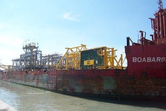 Offshore module transport