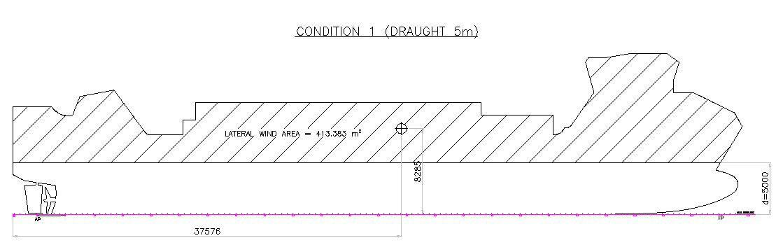 Project A829 CV 1500 alzado 2