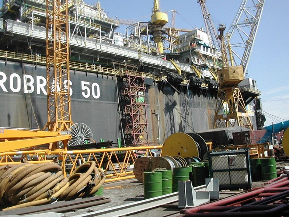 consultancy services - Situation study of the P50 FPSO-1